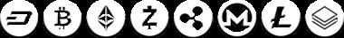 Criptocurrency logos