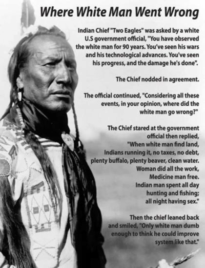 Indian Chief Two Eagles